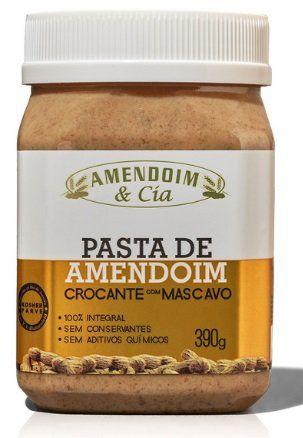 Pasta de Amendoim crocante com mascavo - 390g