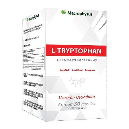 L-tryptophan 600mg - 30 cápsulas