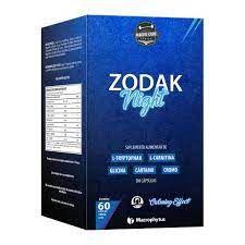 Zodak Night  700mg - 60 cápsulas