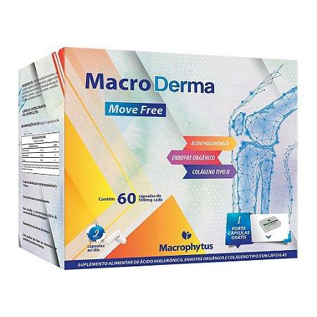 MacroDerma 500mg - 60 cápsulas