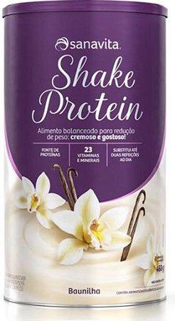 Shake Protein Sanavitta 450g Sabores - REDUÇÃO DE PESO SEM PERDER O SABOR!