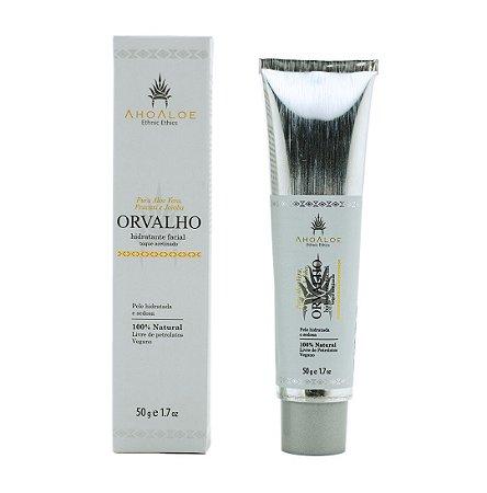 Hidratante Facial Acetinado Orvalho - AhoAloe - 50g
