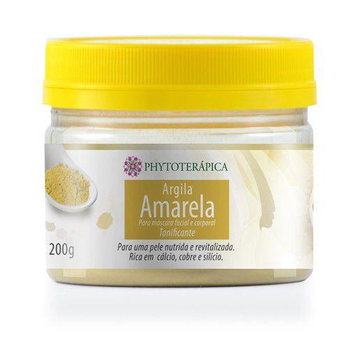 Argila Amarela - Phytoterápica - 200g