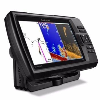 Gps E Sonar Pega Peixe Garmin Striker 7cv Com Transducer