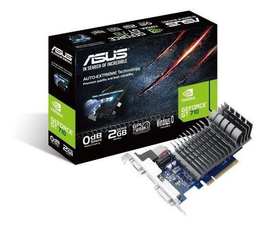 PLACA DE VÍDEO GT710 2GB  (ASUS)