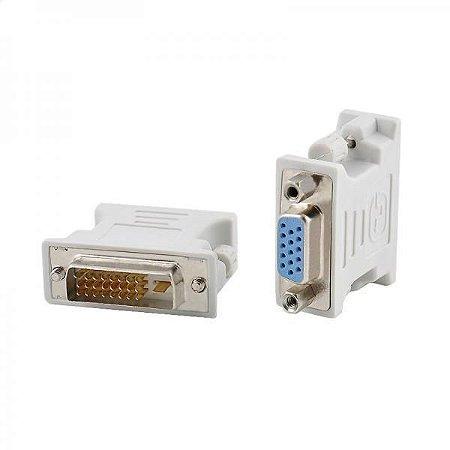 ADAPTADOR DVI-MACHO-VGA FEMEA 24+1