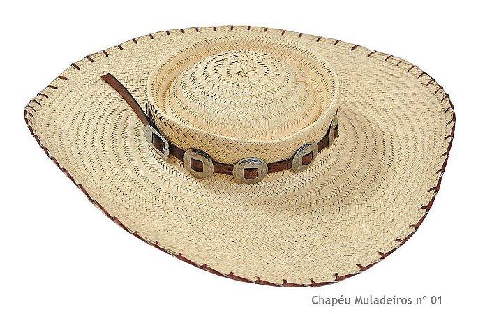 Chapéu Muladeiros aba 12 cm