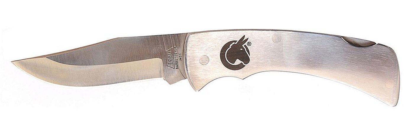 Canivete Aço Inox Muladeiros com Presilha