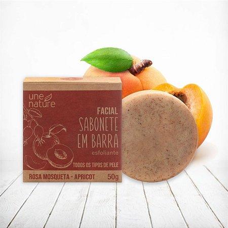 Sabonete em Barra Esfoliante Facial Une Nature Arte dos Aromas 50g