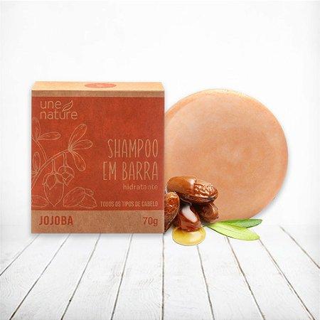 Shampoo em Barra Jojoba Une Nature Arte dos Aromas 70g