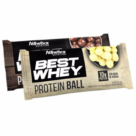 Best Whey Protein Ball (Unidade 50g) - Atlhetica Nutrition