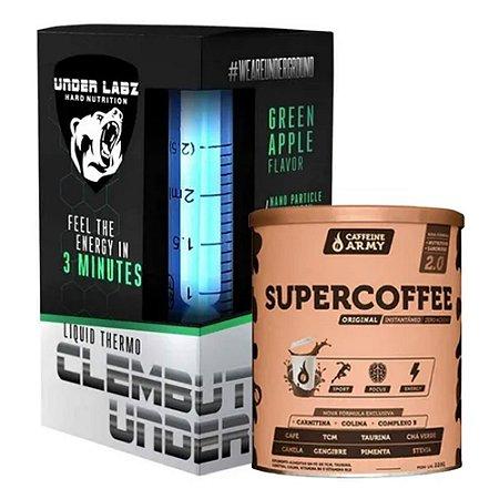 Kit Emagrecimento Super Coffe e Clembuter Termogênico