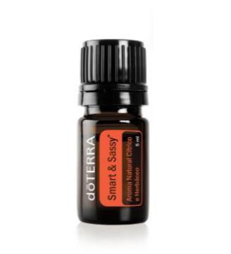 Smart & Sassy dōTERRA 5 ml - Aroma Natural Cítrico e Herbáceo
