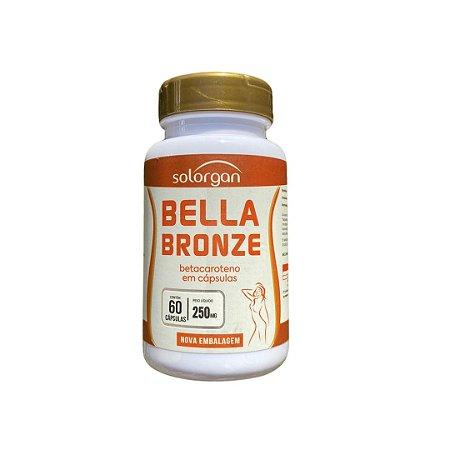 Bella Bronze - Betacaroteno 60 cápsulas
