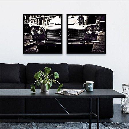 Coleção - Quadros Decorativos Automobilístico