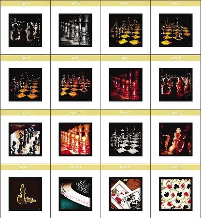 Coleção - Quadros Decorativos de Jogos