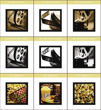 Coleção - Quadros Decorativos de Cinema