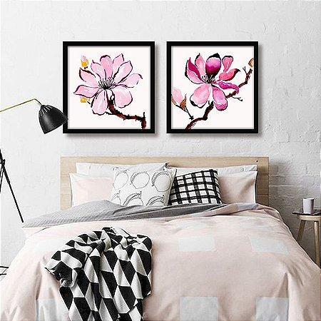 Coleção - Quadros Decorativos Florais