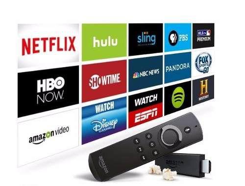 Amazon Fire Tv Stick With Voice Remote Alexa Pronta Entrega