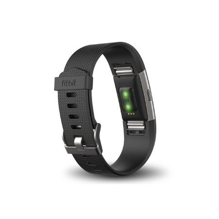 Fitbit Charge 2 Heart Rate + Fitness Wristband Black