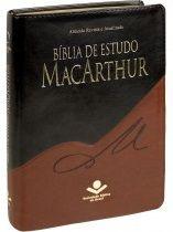 Bíblia de Estudo MacArthur - Preto e Marrom