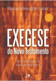 Exegese do Novo Testamento / Manuel Alexandre Júnior