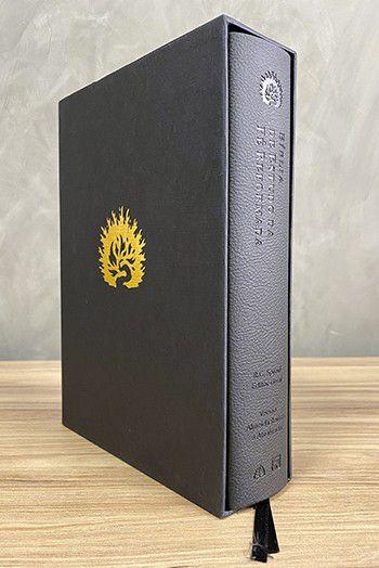 A Bíblia de Estudo da Fé Reformada - Capa Luxo Preto
