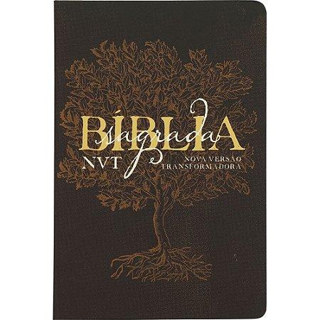 Bíblia NVT LG Éden Marrom