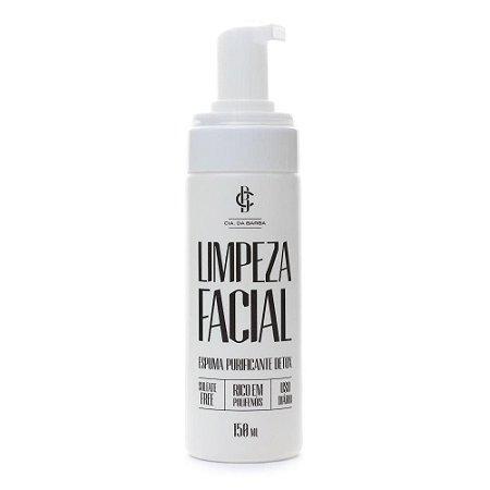 Limpeza Facial Cia da Barba Espuma Purificante Detox
