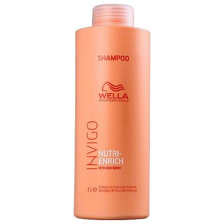 Shampoo 1000ml Wella Professionals Invigo Nutri-Enrich