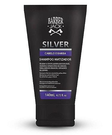Shampoo Matizador Silver Barber Jack