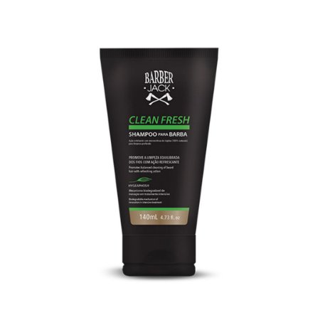 Shampoo para barba Barber Jack Clean Fresh