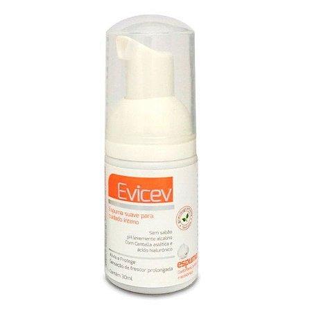 Evicev 30ml - Espuma cuidados íntimos da mulher