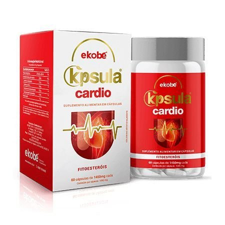 K'psula Cardio 60 cáps - combate o colesterol