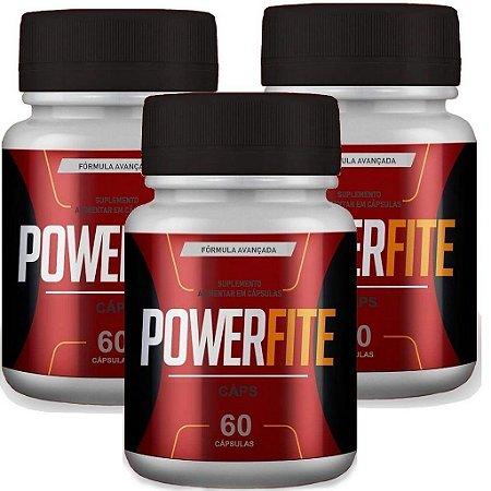 Power Fite 60 cáps - kit 3 unidades