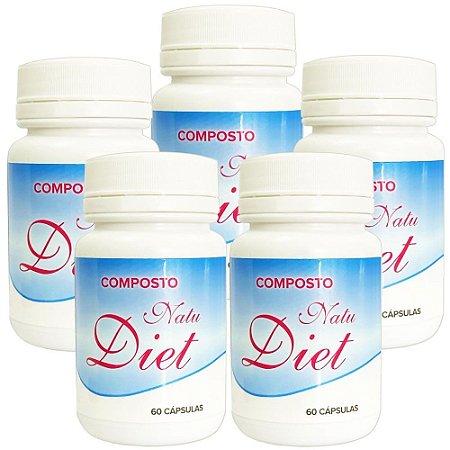 Natu Diet 60 cáps - kit 5 unidades