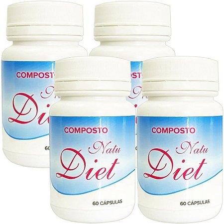 Natu Diet 60 cáps - kit 4 unidades