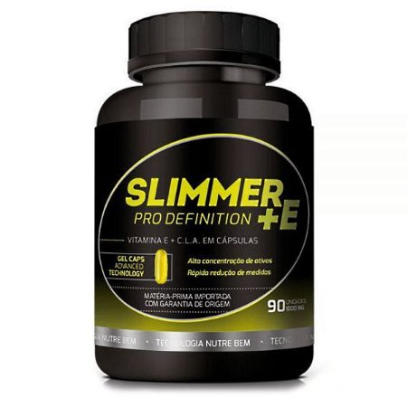 Slimmer +E 90 cáps - Reduz Gordura Corporal