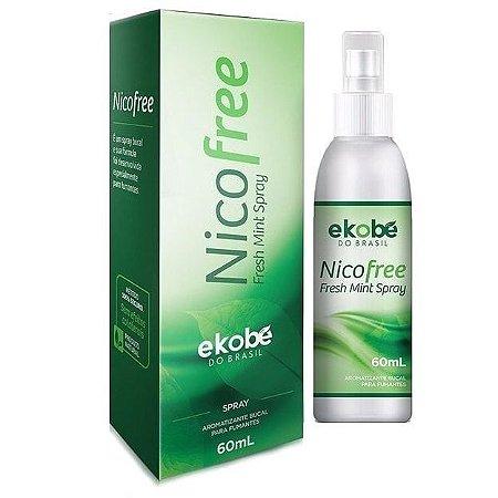 NicoFree Spray 60ml - Anti-Tabagismo - Parar de Fumar