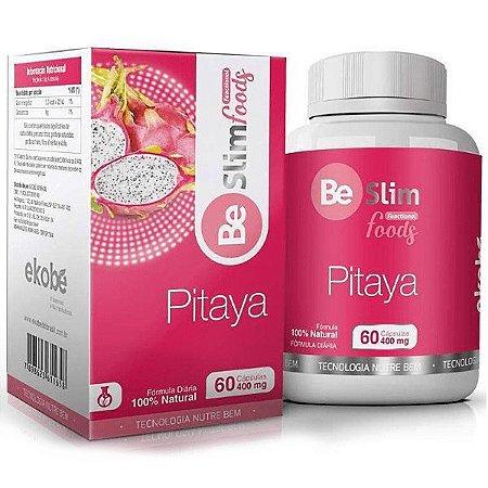 Be Slim Pitaya 60 cáps - fonte de fibras emagrecedoras