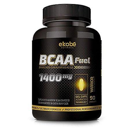 BCAA Fuel 90 cáps - Aminoácidos de Cadeia Ramificada