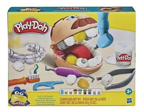 PLAY-DOH BRINCANDO DE DENTISTA F/1259