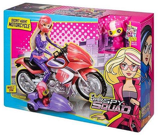 DHF21 BARBIE FILME MOTOCICLETA E PET