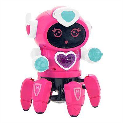 ROBO LADY COM FACE DIGITAL LUZ