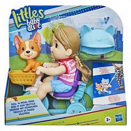 BABY ALIVE LITTLE C/VELOTROLE E7410