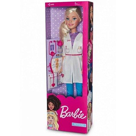 Boneca Barbie Medica 70 Centimetros 1276 Fun