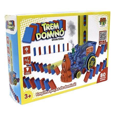 TREM DOMINO DIVERTIDO 80 PCS