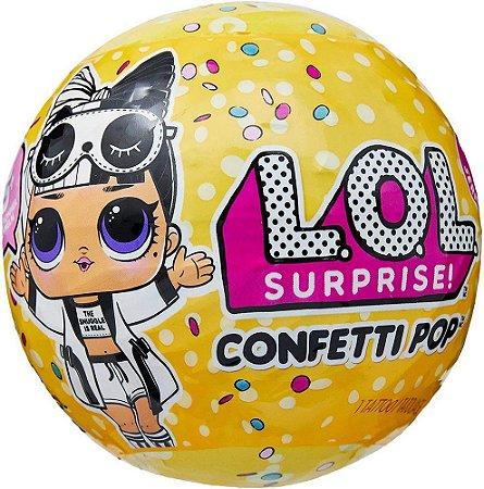 Mini Boneca Surpresa Confetti Pop