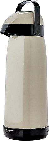 Garrafa Termica Magic Pump 1.8 Litros Preto 54737 - Termolar