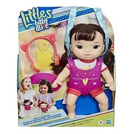 BABY ALIVE LITTLE ESTILOSA C/ACES E6646